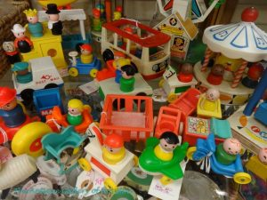 Selection of Fisher-Price toy play people