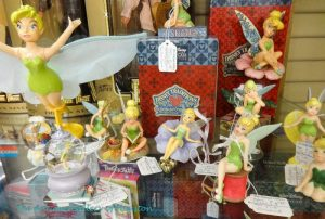 "Disney fairy ""Tinkerbelle"" in collectible forms from snow globles to poseable figures"