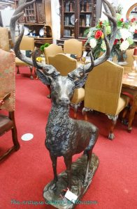 Large deer for indoor or outdoor decor