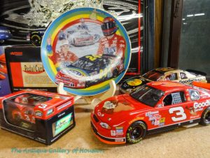 Models of NASCAR race cars
