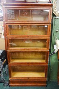 "Furniture: Barrister's bookcase, 68""x34""x11"", Dealer F7, 1216"