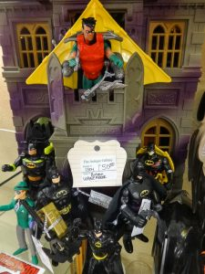 Batman playset and action figures, dealer 1304, showcase 7