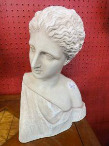 Italian white bust, Booth B10