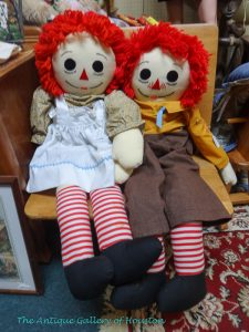 Large size original Raggedy Ann and Andy, Booth V1