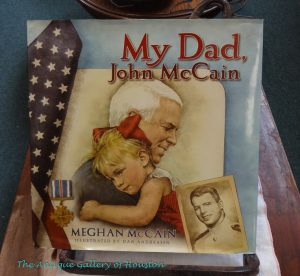 Biography of John McCain written by his daughter for children, Booth