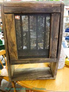 Rustic beehive box, Booth Q 1, 2, 3