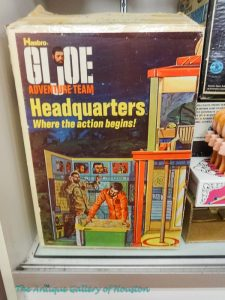 Vintage G. I. Joe playset, Adventure Team Headquarter, Booth V6