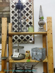 Decor from rustic metal