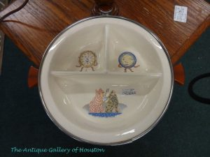 Divided plate for baby with nursery rhyme characters, Booth S2