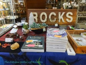Books about rocks and minerals, Booth D 5, 6