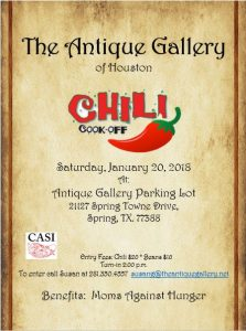 Chili Cookoff 1/20/18